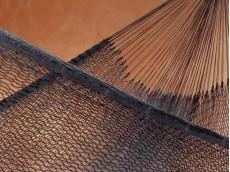 Hamac du Mexique nylon noir