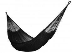 Hamac mexicain nylon noir