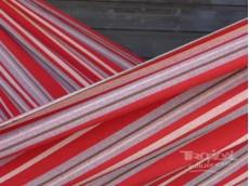 Toile hamac rouge gris