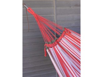 hamac rouge tropical influences