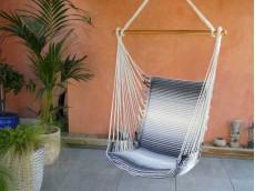 fauteuil hamac gris