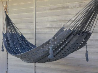 black modern hammock