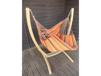 Hamac chaise XXL avec support Paquito Arawake