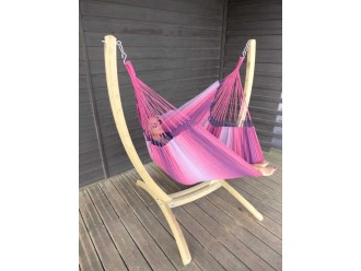 HAMAC CHAISE ROSE FUSCHIA