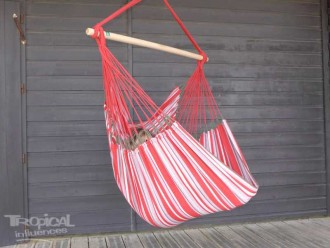 HAMAC CHAISE ROUGE