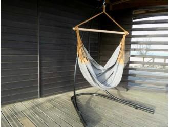 Hamac chaise Yiri gris - Lunatta