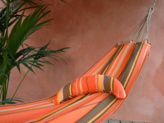 coussin tropical hamac