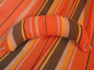 coussin hamac orange