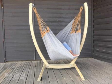 Hamac chaise grise