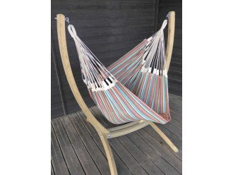 hamac chaise support bois