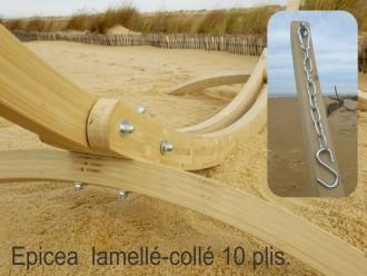 Support hamac bois qualité