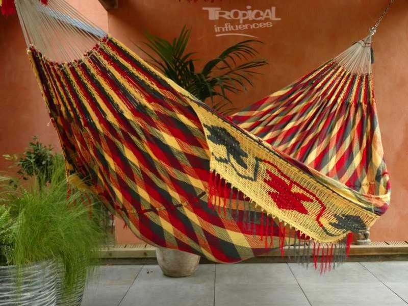 hamac wayuu rouge