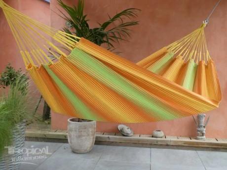Hamac jaune vert orange
