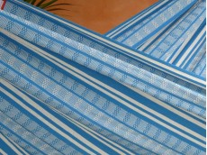 tissu hamac turquoise