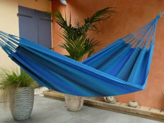 blue black hammock