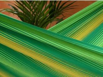 hamac vert clair jaune
