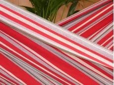 toile hamac rouge
