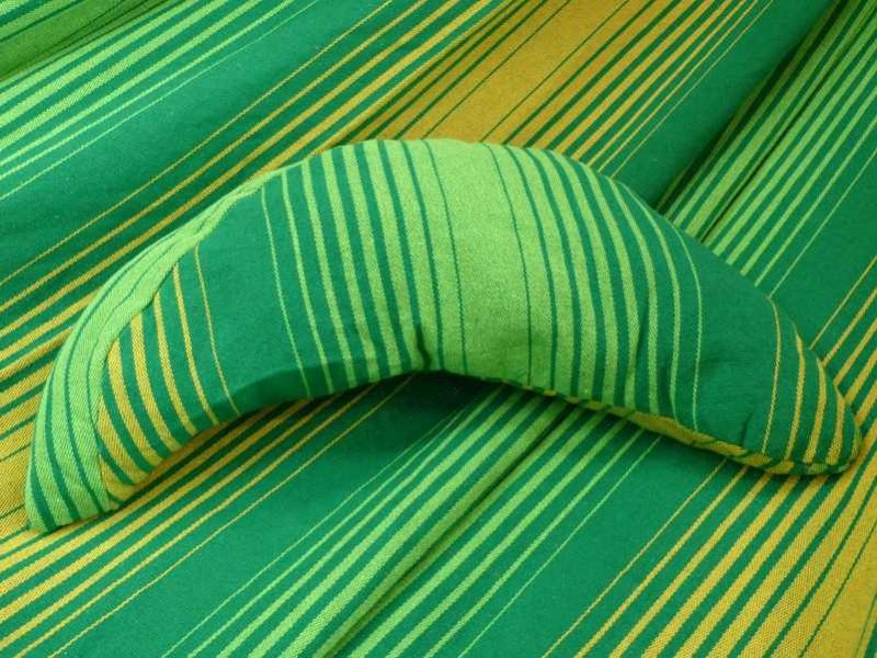 Coussin pour hamac vert