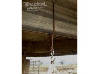 Corde et crochet pour hamac chaise