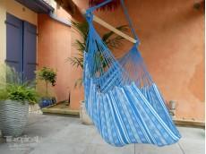 Hamac chaise bleu