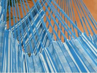 Chaise hamac bleu