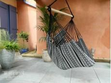 Hamac chaise noir