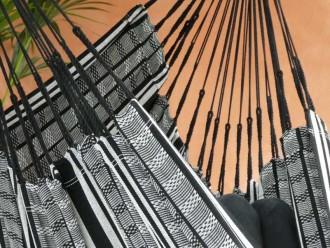 Chaise hamac POLIGONO Noir