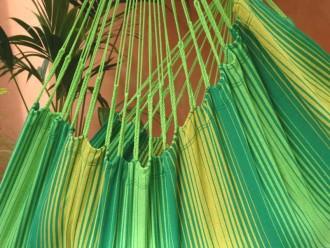 Hamac chaise jaune vert