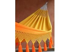 hamac jaune orange