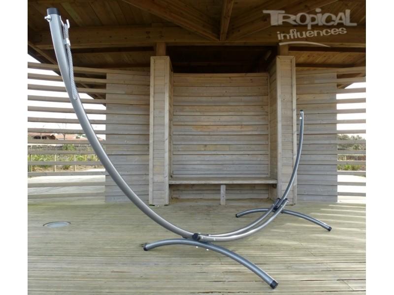 support de hamac en m tal azteka hamak relax tubes 60 mm. Black Bedroom Furniture Sets. Home Design Ideas