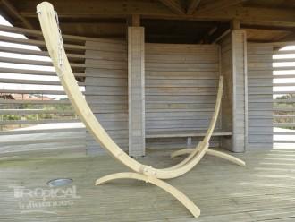 structure hamac bois