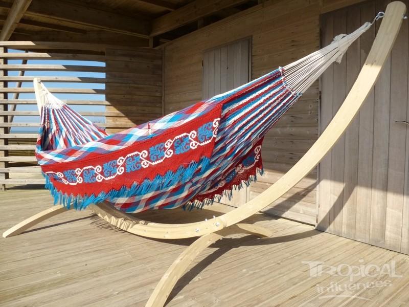 Maya Relax King + hamac Wayuu bbr