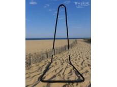 Support métal hamac chaise