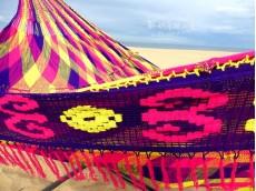 Support hamac Maya Relax King + hamac Wayuu au choix