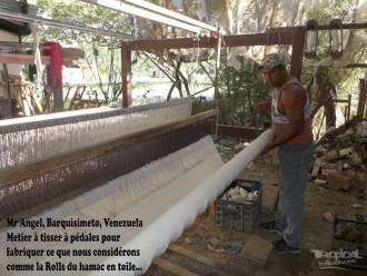 fabrication hamac du venezuela