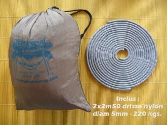 Cordes pour hamac de voyage