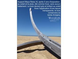 Support hamac bois geant