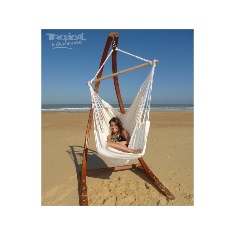 support hamac chaise coolangatta avec bogota cru rallonge. Black Bedroom Furniture Sets. Home Design Ideas