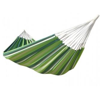 Hamac vert rayé solo caribe pepino