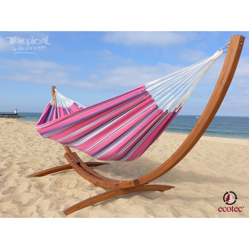 hamac sur pied latino relax xl avec hamac caribe xl goyave. Black Bedroom Furniture Sets. Home Design Ideas
