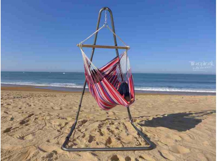 Hamac chaise avec support Soledad Royal Candy