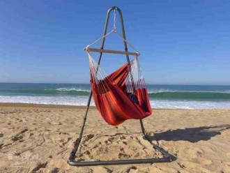 Hamac chaise avec support Soledad Barbacoa