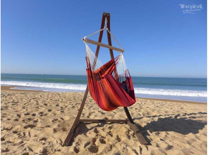 Support hamac-chaise Mélèze Barbacoa