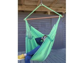 Chaise hamac vert