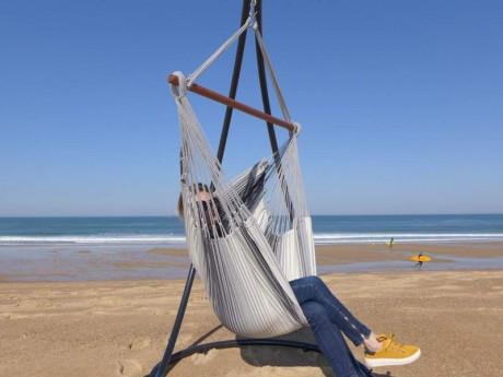 Chaise hamac Gris