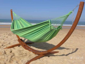 Support hamac Latino Relax L + Mariposa 3 Verdes