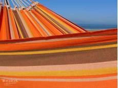 Fauteuil suspendu orange