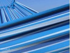Hamac sur pied bleu