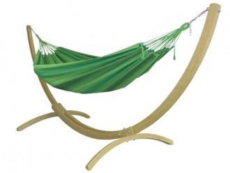 Hamac sur pied vert