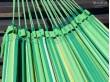 Hamac double brésilien vert